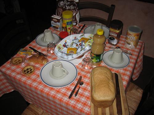 La colazione di ANTICO BORGO TOSCANO B&B