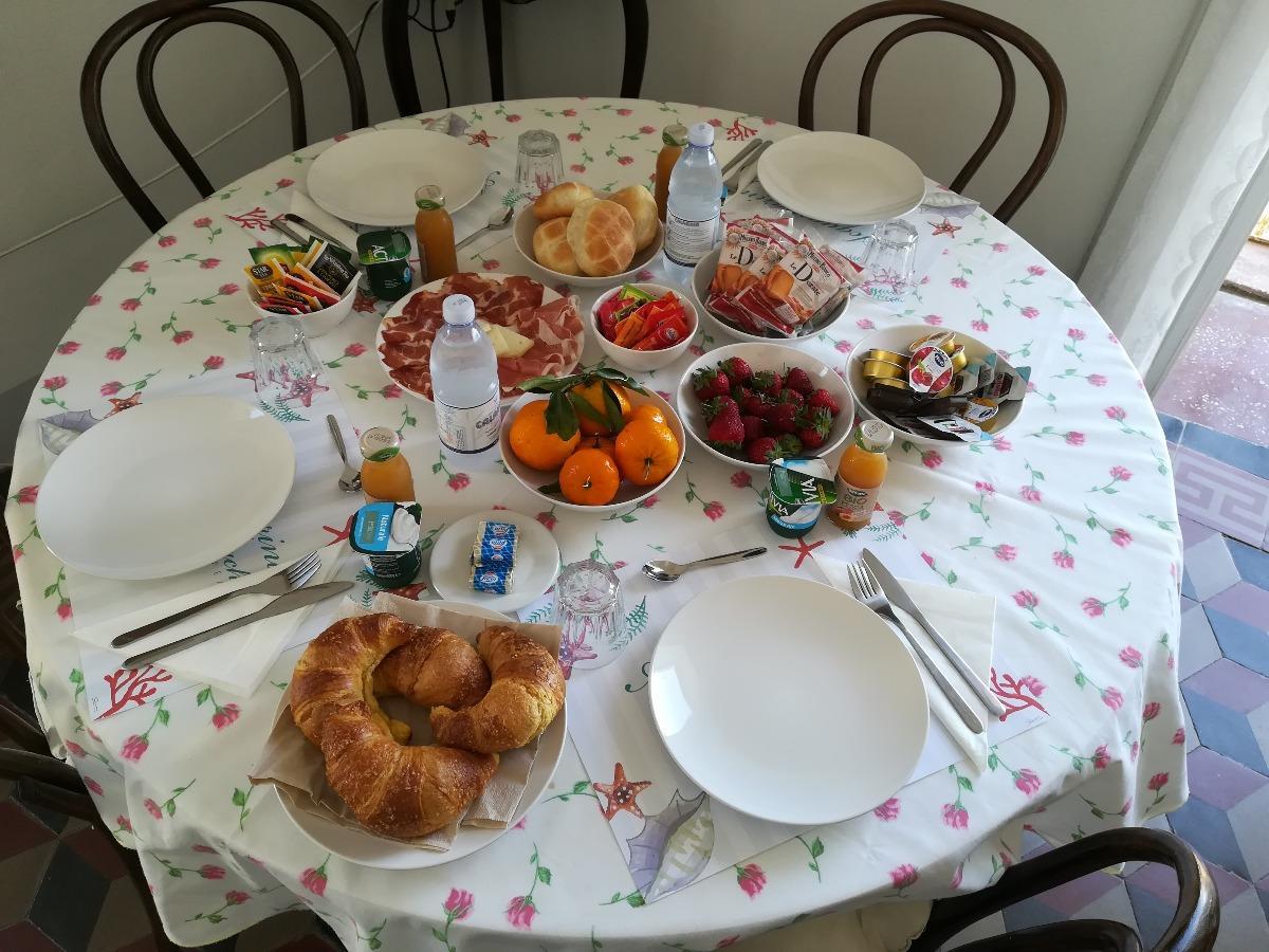 La colazione di AL VECCHIO CASTELLO