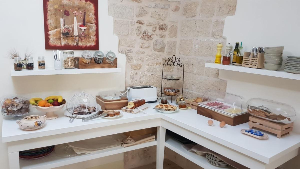 La colazione di ANTICO MONDO - ROOMS & SUITES