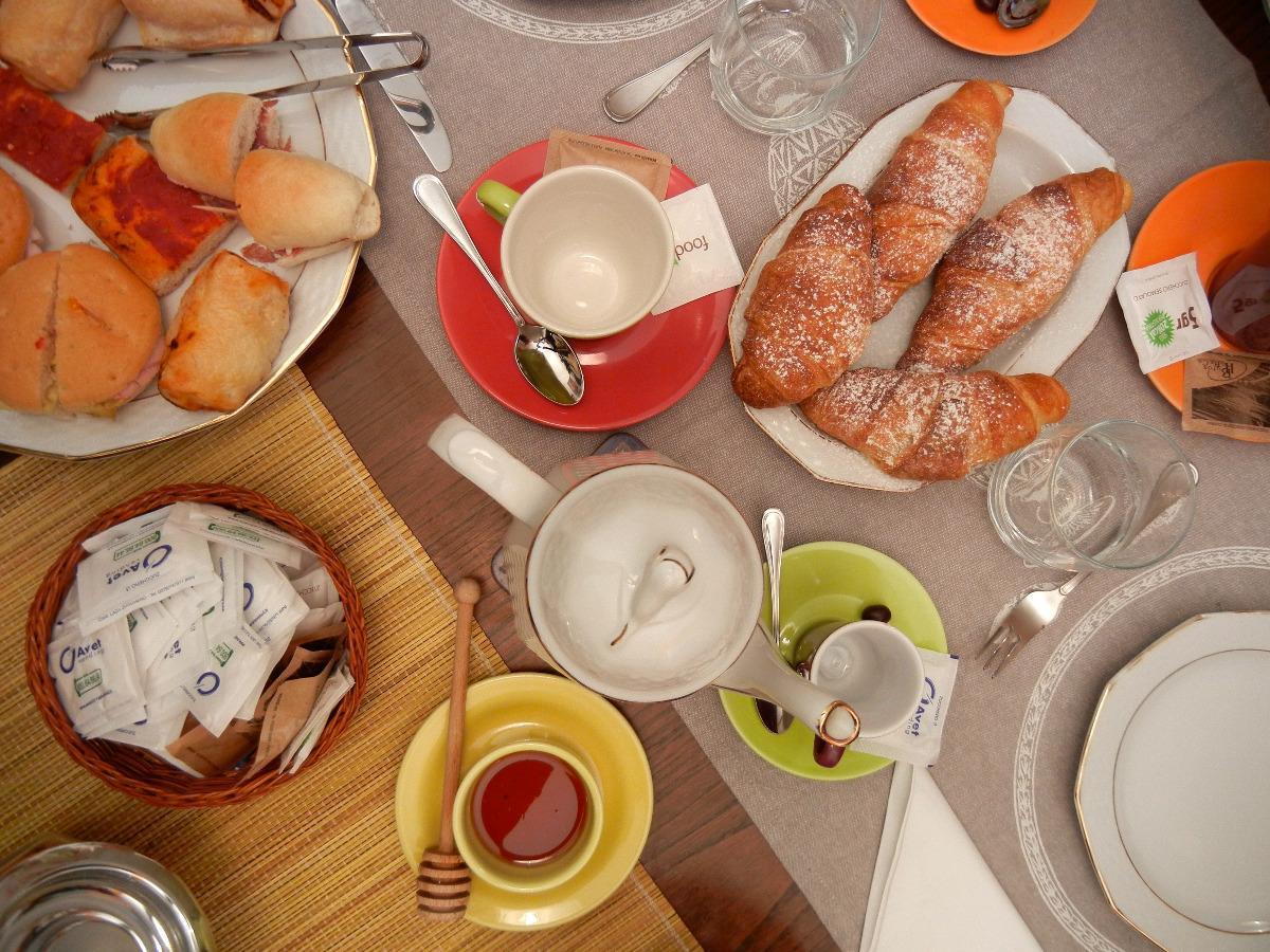 La colazione di PERCORSO VERDE