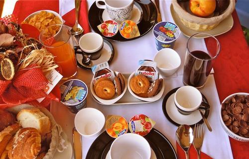 La colazione di ALBA ROMANA B&B