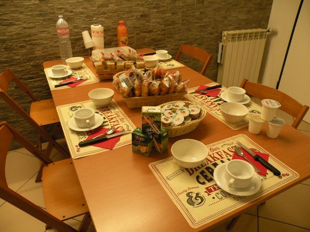 La colazione di AFFITTACAMERE CASADIO KATIA