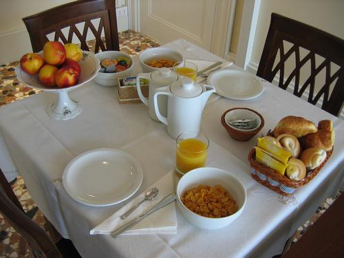 La colazione di B&B A LE BOTEGHE