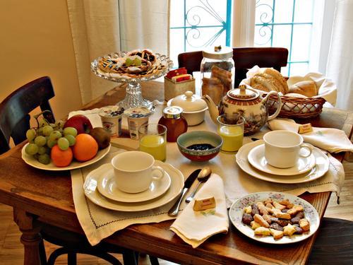 La colazione di AL BORGO