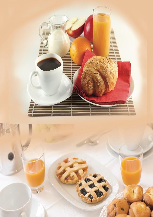La colazione di B&B A CASA DI ROSY