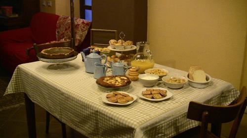 La colazione di LA CORTE DI ALZO
