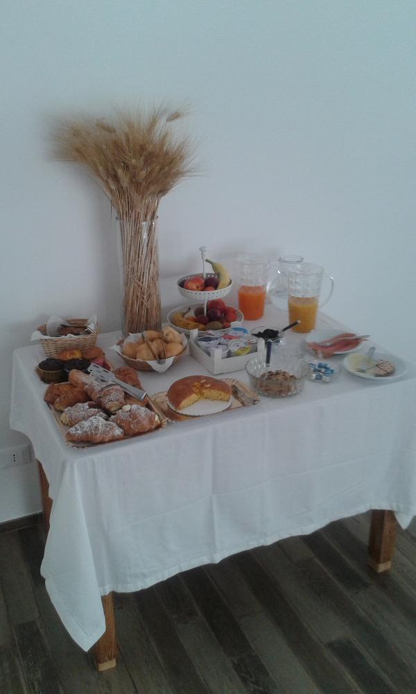 La colazione di B&B LE AZALEE