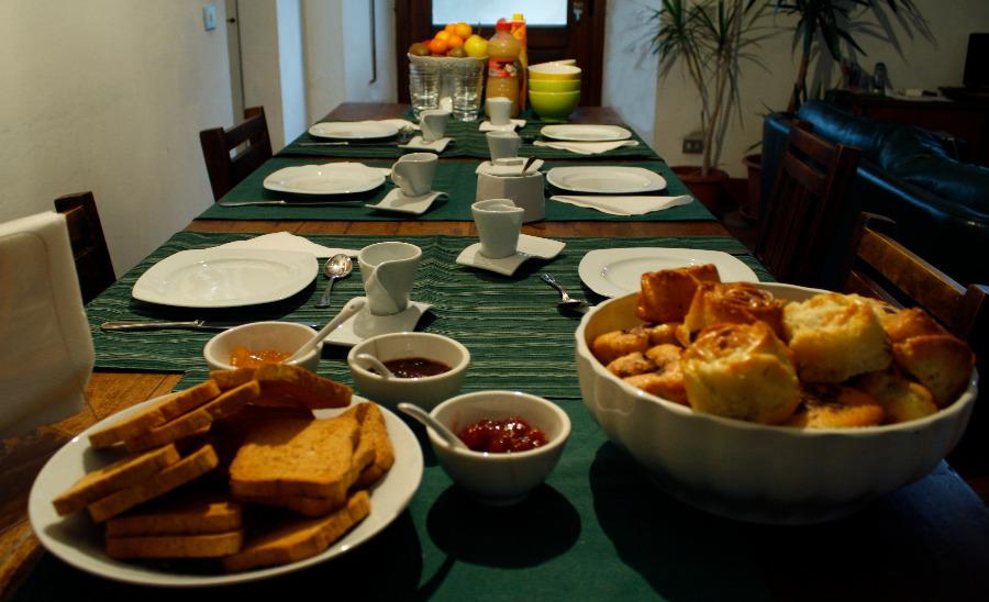 La colazione di IL BORGO