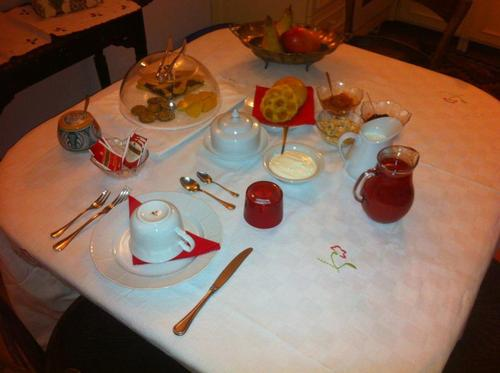La colazione di LE STANZE DI TORCICODA