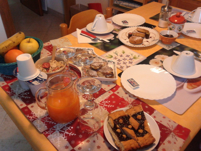 La colazione di A CASA DI CATIA