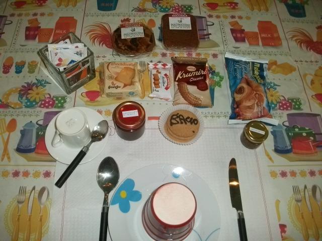 La colazione di CASA DEL VENTINIERE
