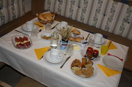 La colazione di B&B CASA DEI RICCI