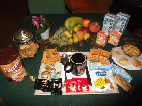 La colazione di MAGNA GRECIA B&B