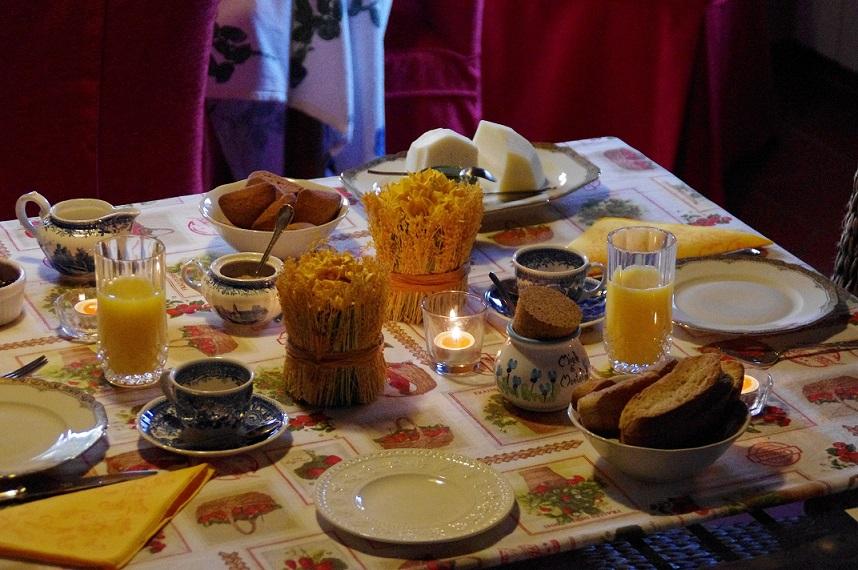 La colazione di B&B HAREM