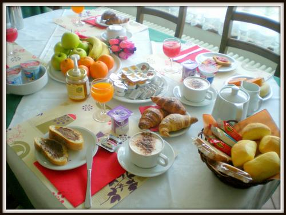 La colazione di LA LOCANDA