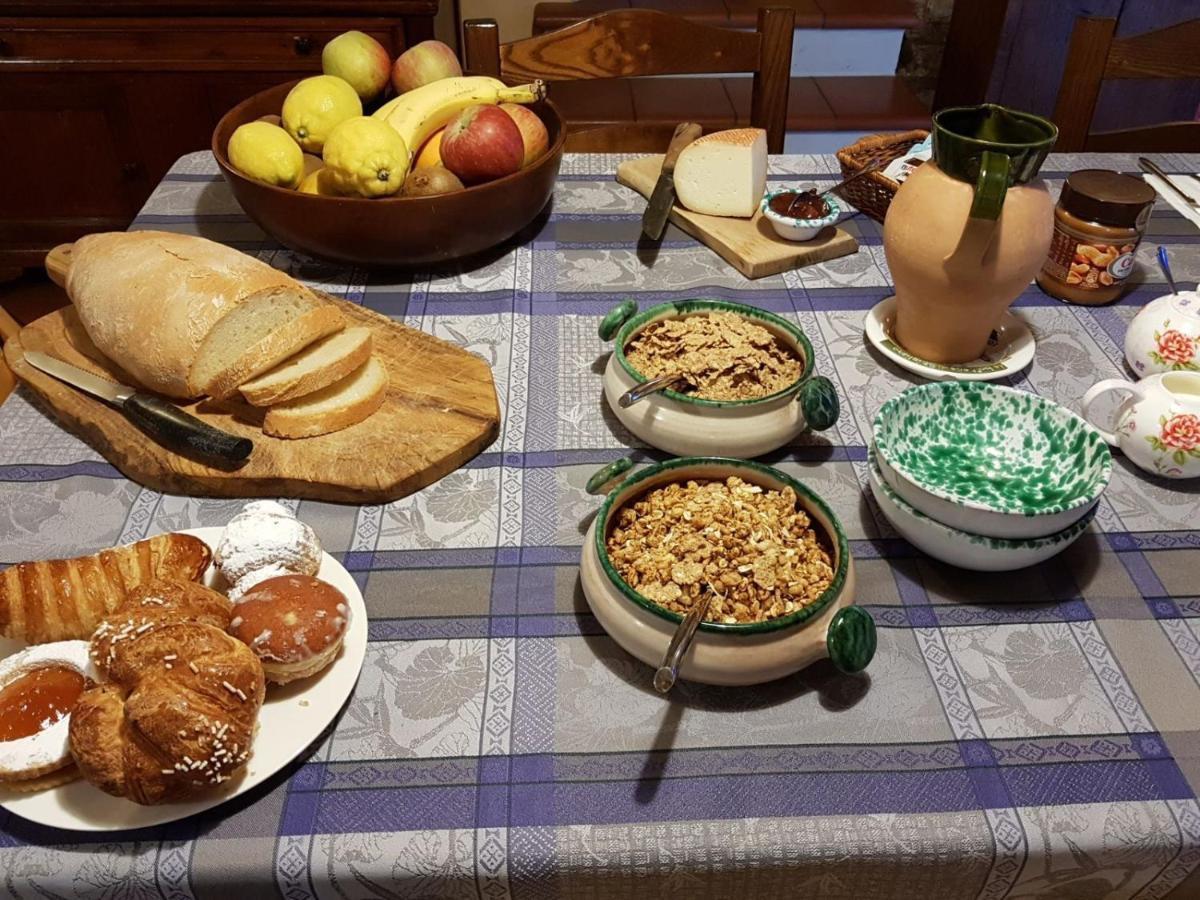 La colazione di B&B PALAZZO A MERSE