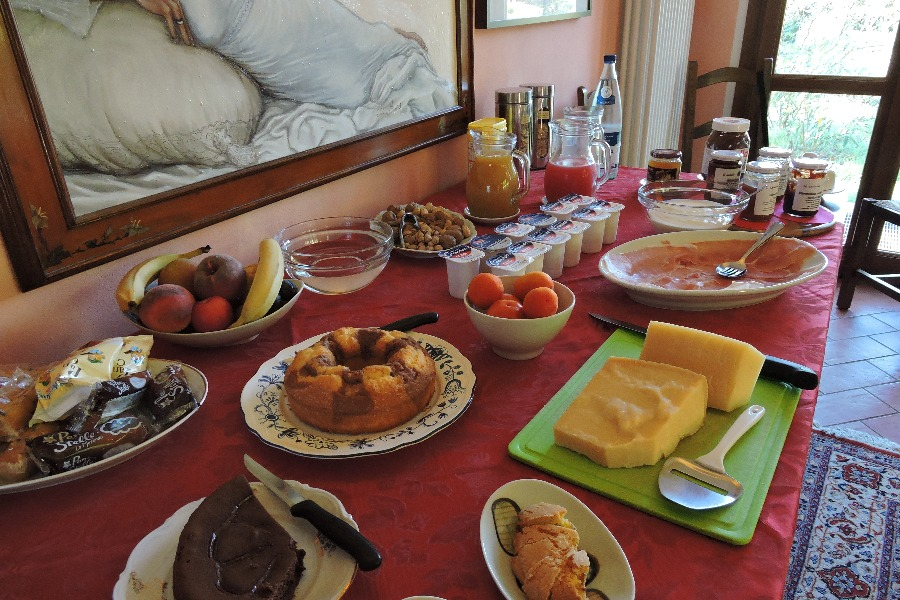 La colazione di B&B IL CAVICCHIO