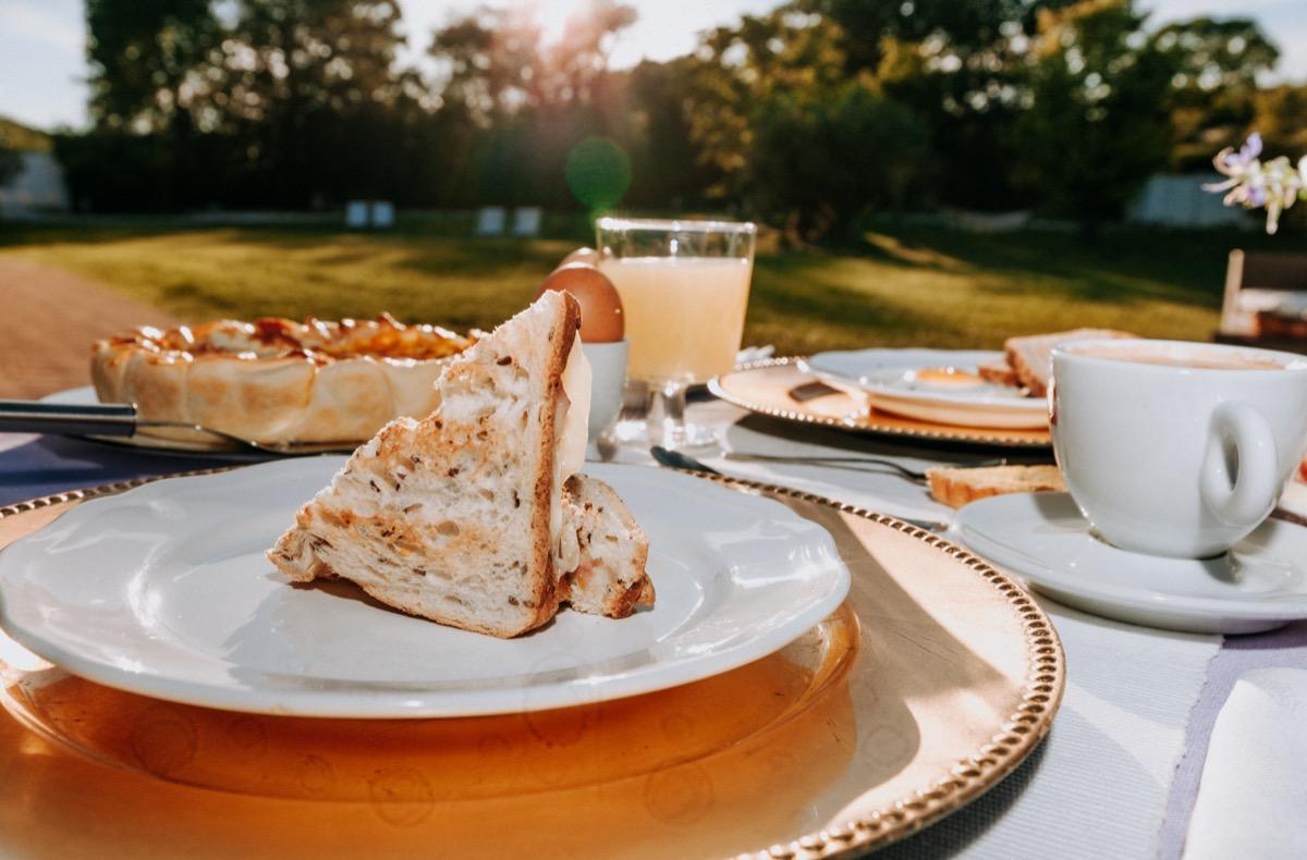 La colazione di ALLE PENDICI DEL CONERO