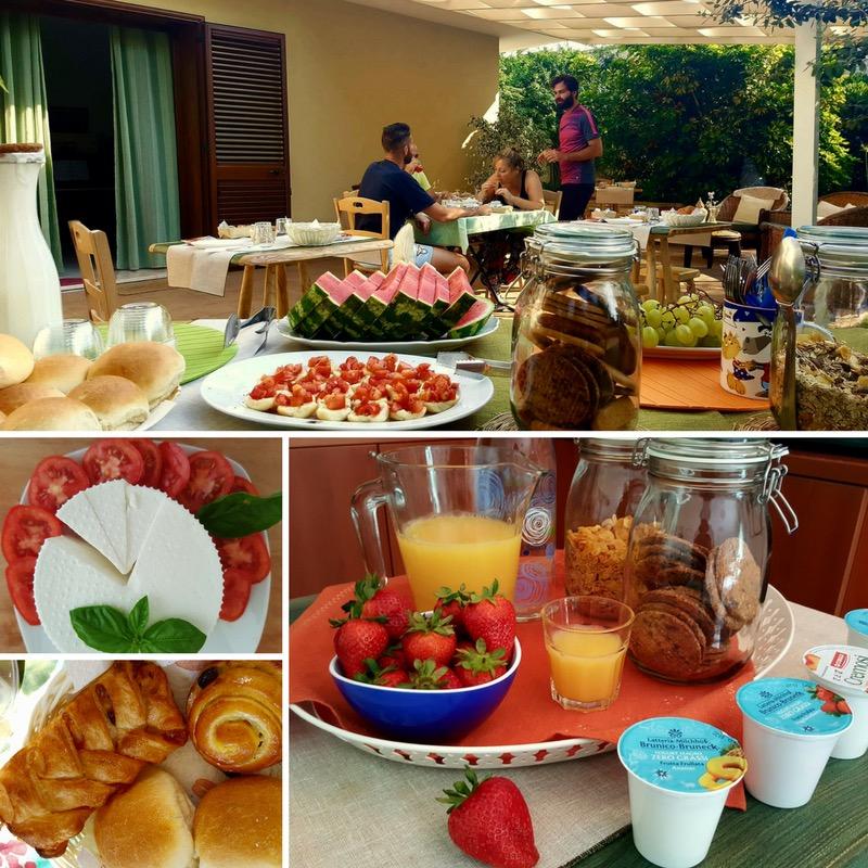 La colazione di GIARDINO DEI SUONI B&B