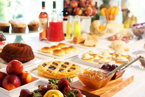La colazione di B&B BORGO ROSSO COUNTRY HOUSE