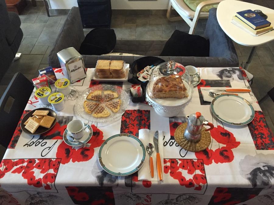 La colazione di CHARLIE B&B SARDINIA