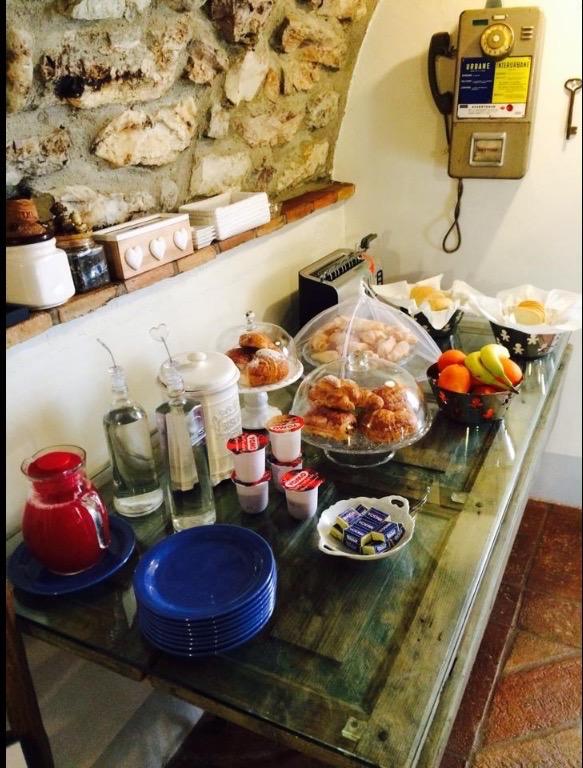 La colazione di BED AND BREKFAST CASA DEL NONNO