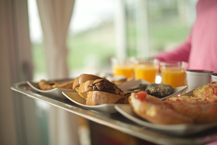 La colazione di BAGNI VITTORIA - B&B E BUNGALOWS