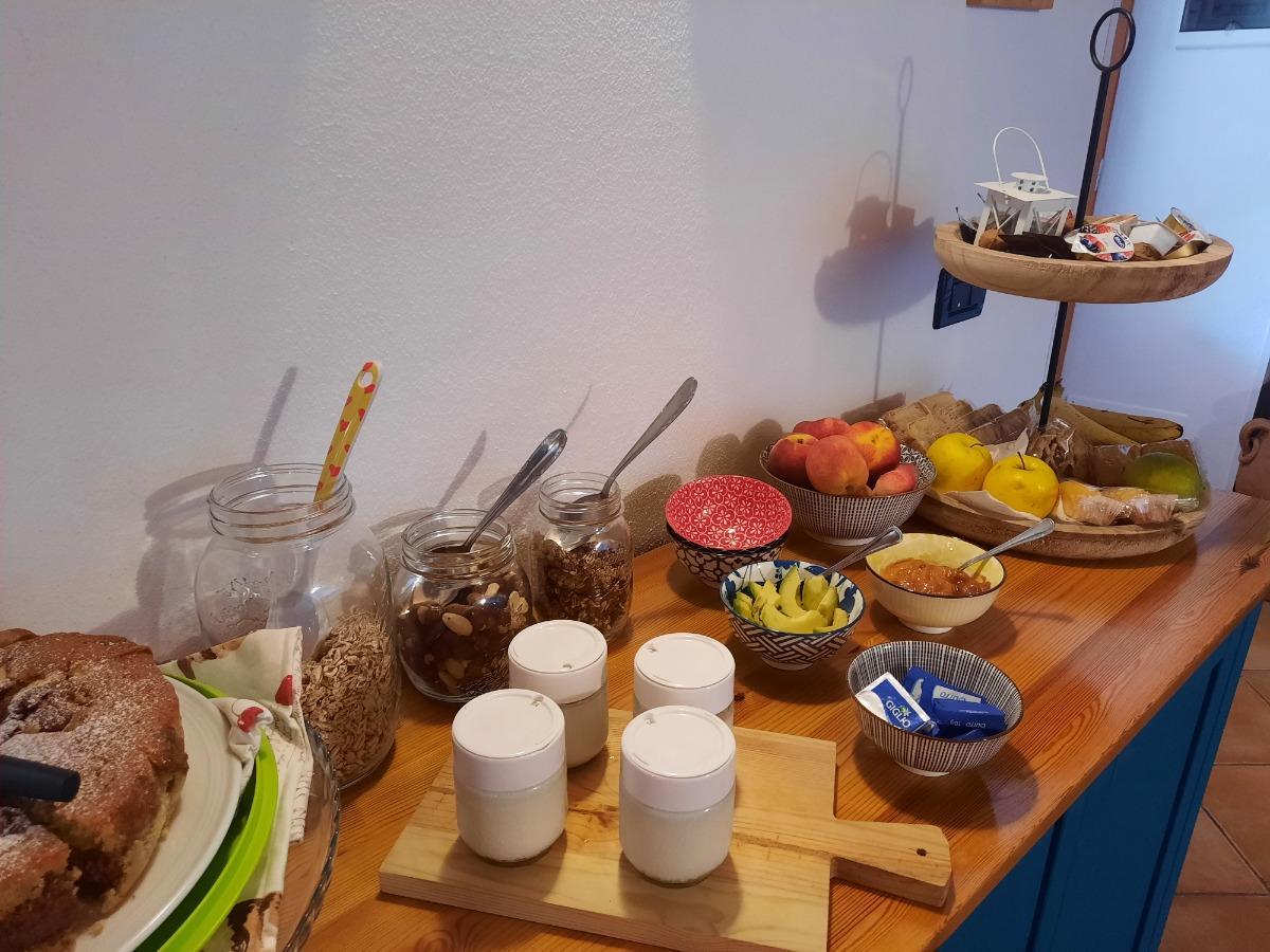La colazione di LA FATTORIA DI CAMPASSO