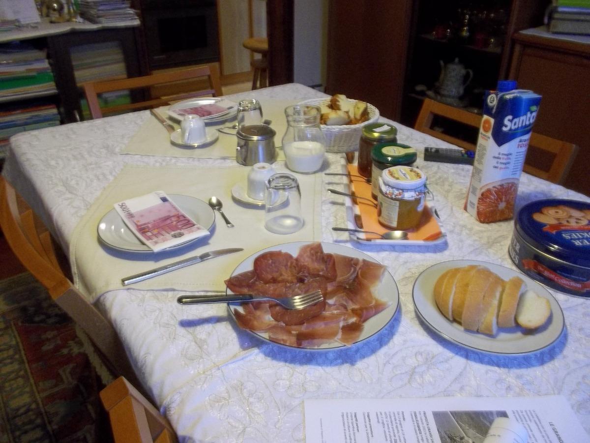 La colazione di B&B DA LORI