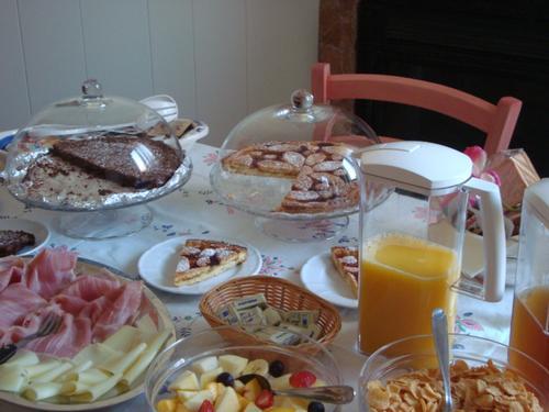 La colazione di CHERRY EN ROSE