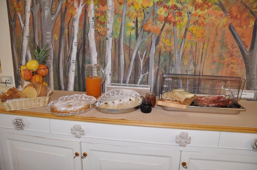 La colazione di RUBINO AFFITTACAMERE