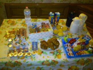 La colazione di B&B CASA MARINA