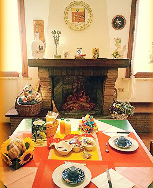 La colazione di B&B LA GINESTRA