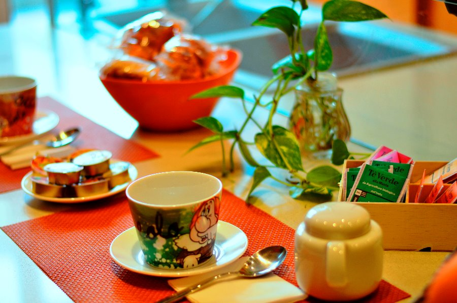 La colazione di AKASATUA B&B