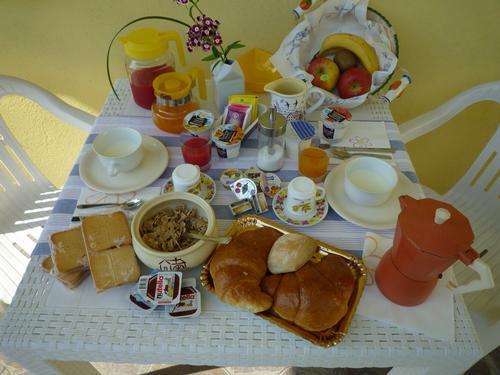 La colazione di DIMORA DI BOSCO
