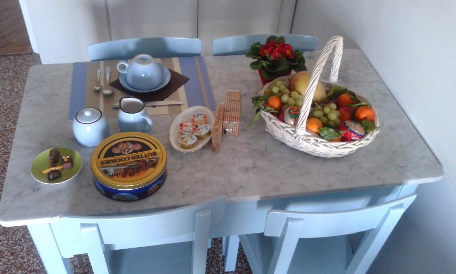 La colazione di AZZURRO