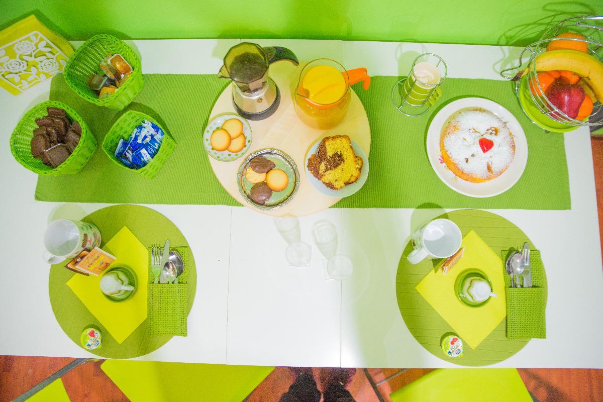 La colazione di GREEN LINE