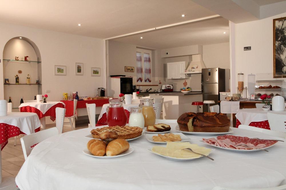 La colazione di ALL'ANTICA MATTONATA
