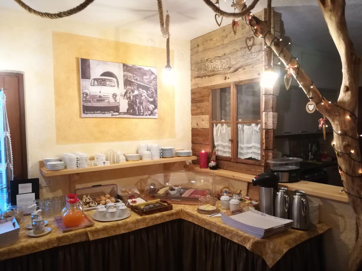 La colazione di AGRITURISMO LA ZANGOLA