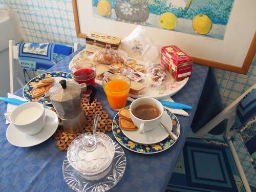 La colazione di ALL'OMBRA DI SAN PIETRO