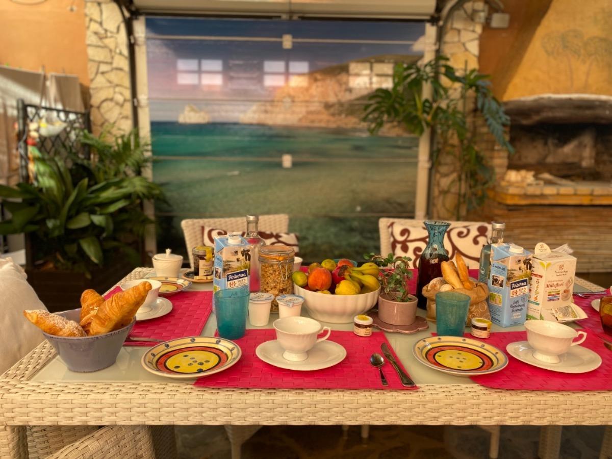 La colazione di DOMUS DE JANAS