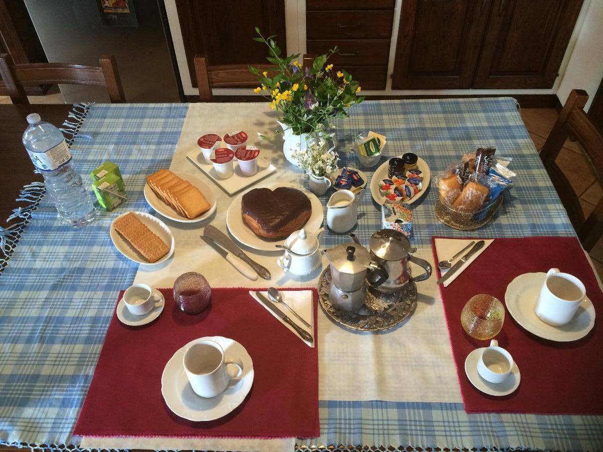 La colazione di CASA BETTA