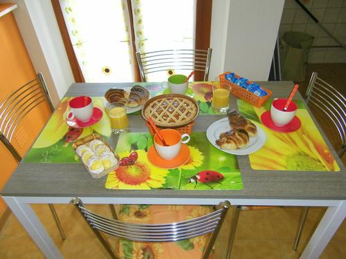 La colazione di B&B LA VILLETTA