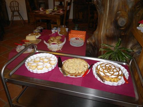 La colazione di AGRITURISMO LA VIGGNI DE CREST