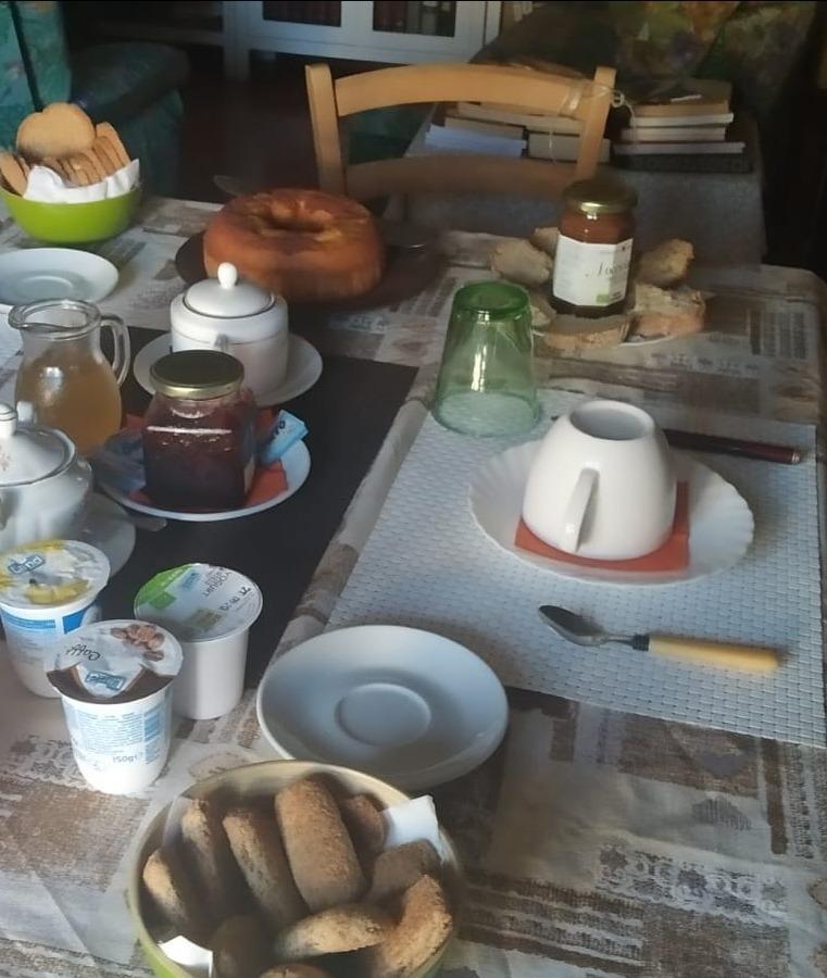La colazione di LA CASA NEI PINI