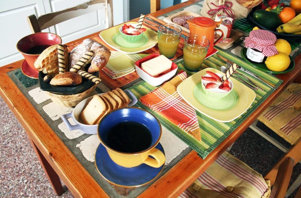 La colazione di LA CANDELARIA