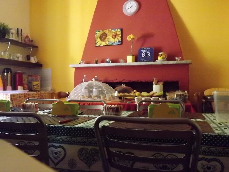 La colazione di IL TEMPO DEL VENTO
