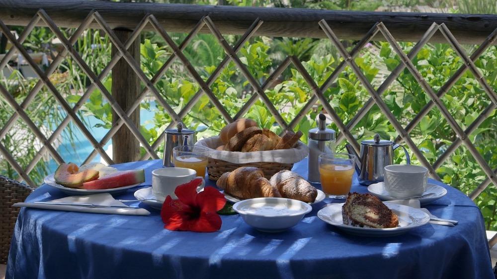 La colazione di SEMIRAMIS HOTEL DE CHARME