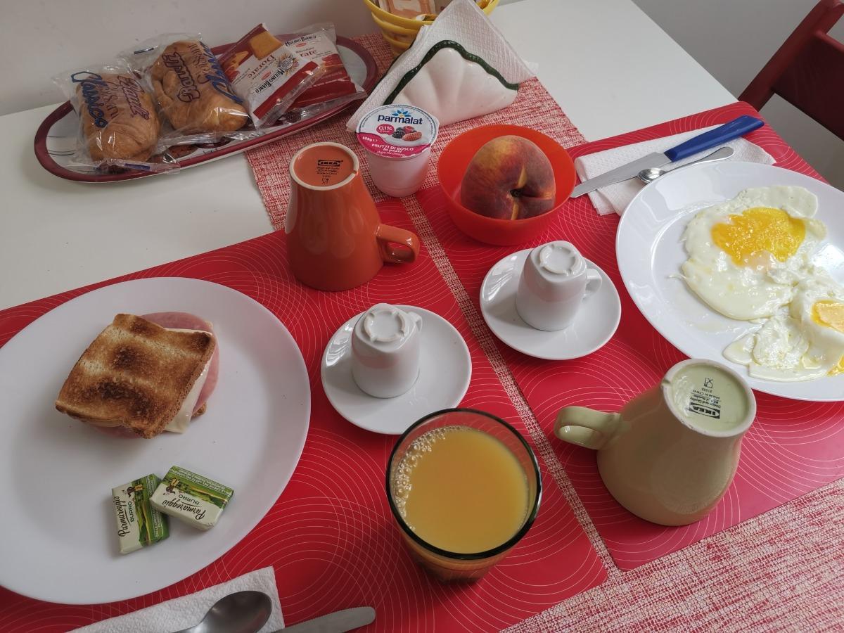 La colazione di HOME 103