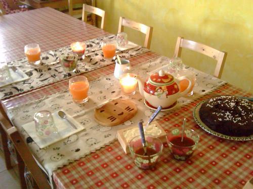 La colazione di B&B LA DOLCE VITAE